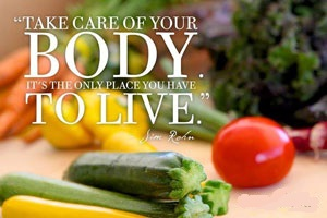 Be organic, be healthy, be fit, be well !!